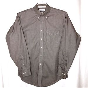 Brooks Brothers Men's 34/35 Houndstooth Shirt